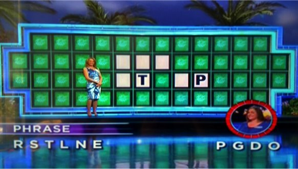 Janet Brandt on Wheel of Fortune (4-13-2017)