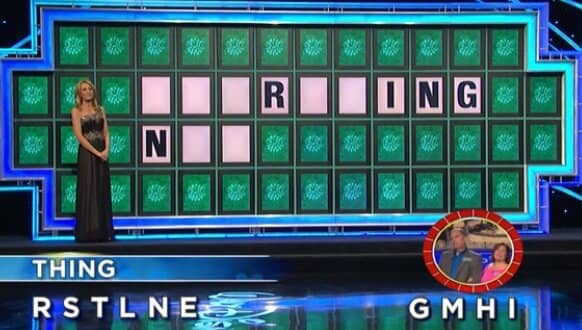 Diana and Dick Graham on Wheel of Fortune (4-5-2017)