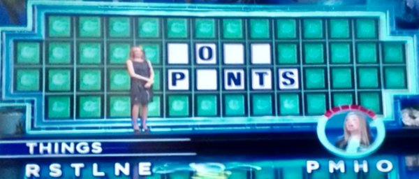 Brandy Holmes on Wheel of Fortune (2-22-2017)