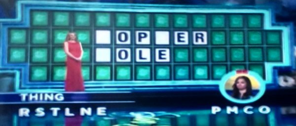 Sheana Turner on Wheel of Fortune (2-23-2017)