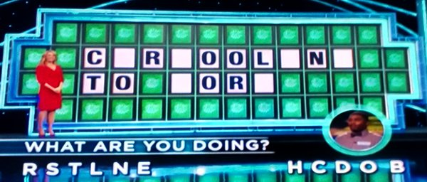 Daren Pennix on Wheel of Fortune (9-15-2016)