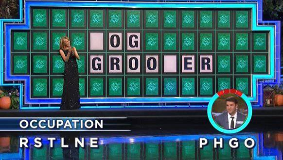 Mark Garcia on Wheel of Fortune (9-22-2017)
